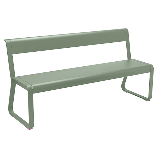 BELLEVIE / BENCH WITH BACKREST