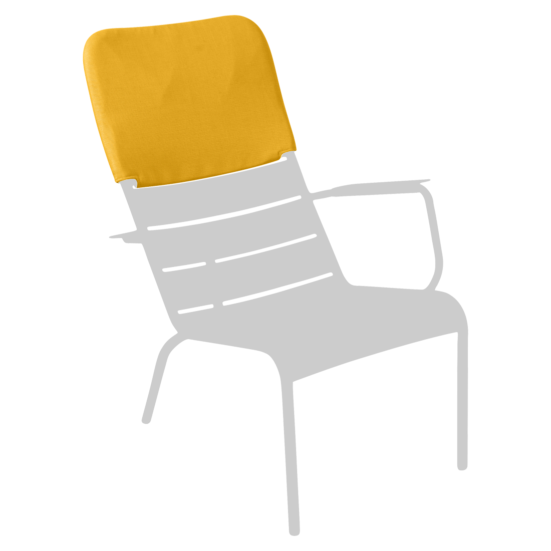 LUXEMBOURG / LOW ARMCHAIR HEADREST